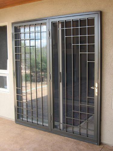 13 Rejas para puertas corredizas