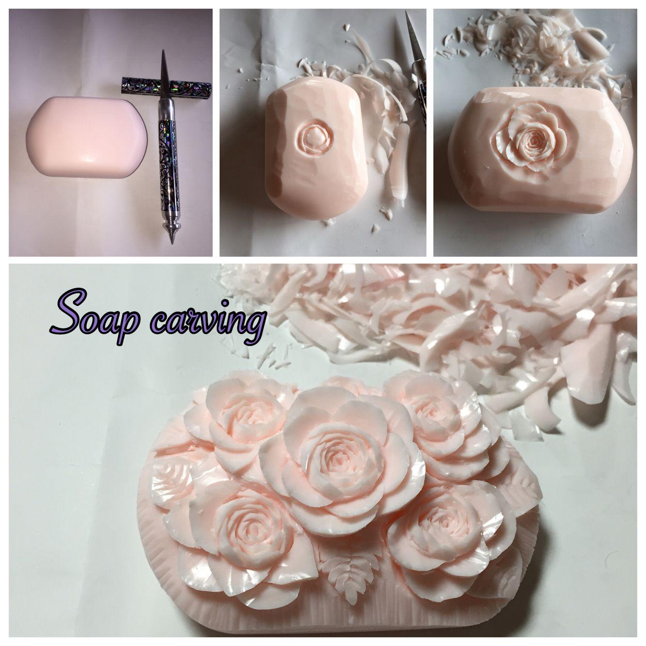 初心者です練習中 Καλούπια pinterest soap carving