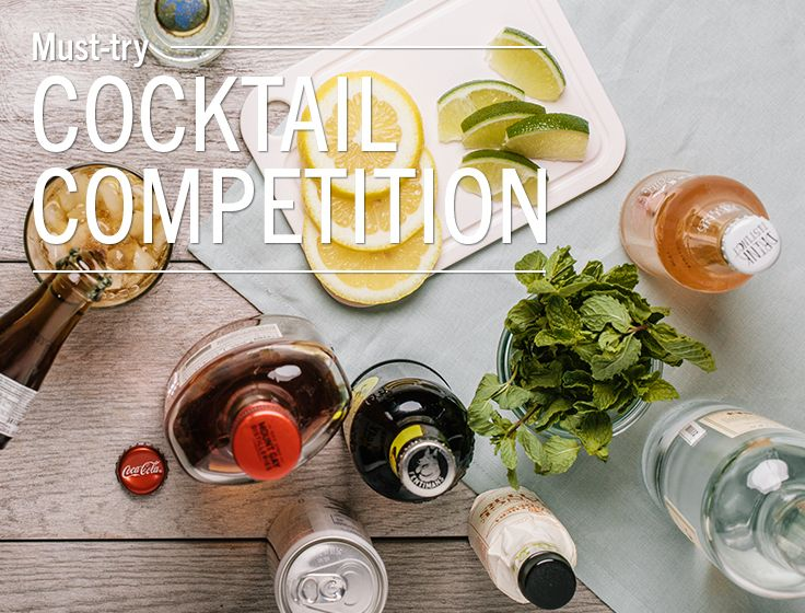 Fun Cocktail Party Ideas Part - 25: Fun Party Idea: How To Hold A Cocktail Competition #LundsandByerlys