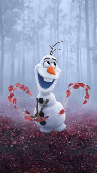 Olaf Frozen 2 4k Hd Mobile Smartphone And Pc Desktop