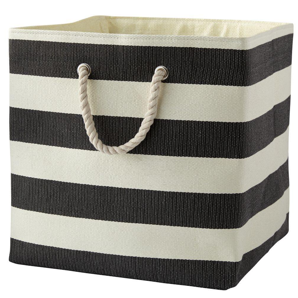 Black Stripes Around the Floor Bin