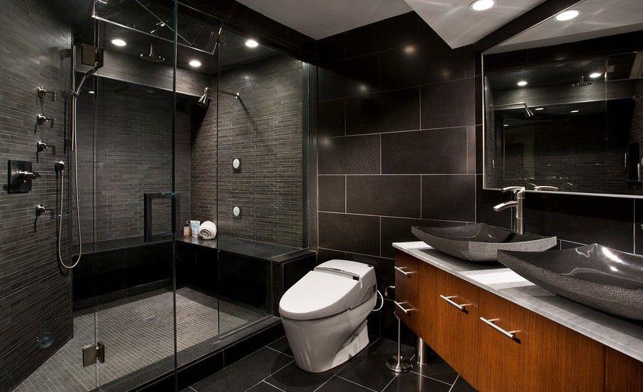 15 Stunning Masculine Bathroom Design Ideas Arhitektura Stil Nathnennya