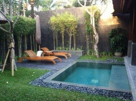 Jardines peque os 70 fotos e ideas piscina pinterest - Jardines pequenos imagenes ...