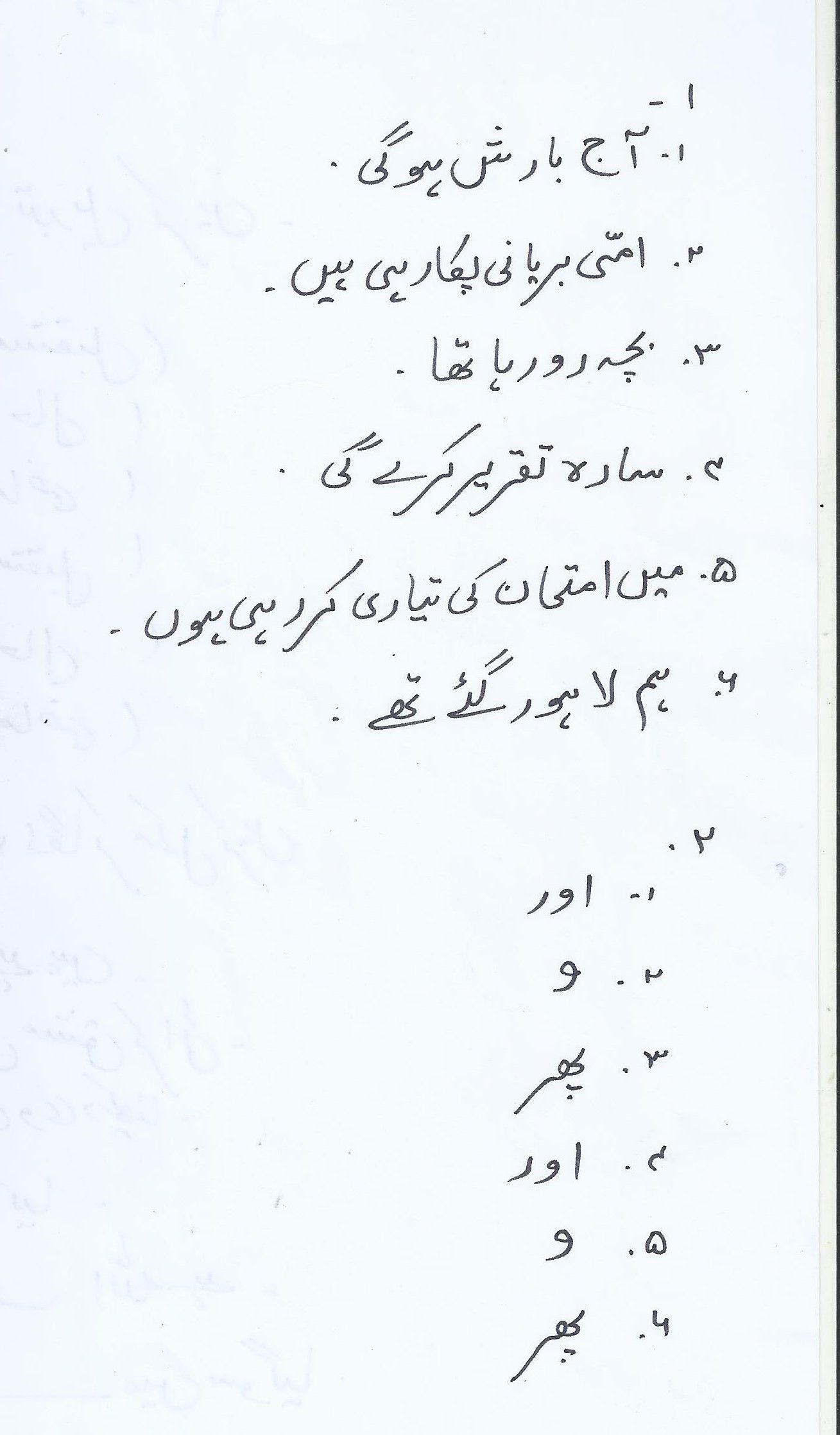 Urdu Words Urdu Arabi [ 2236 x 1309 Pixel ]