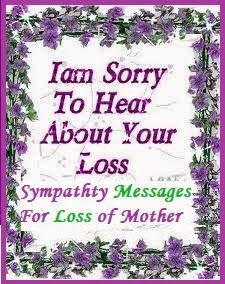 Sympathy Messages For Loss  Deaths    Messages And