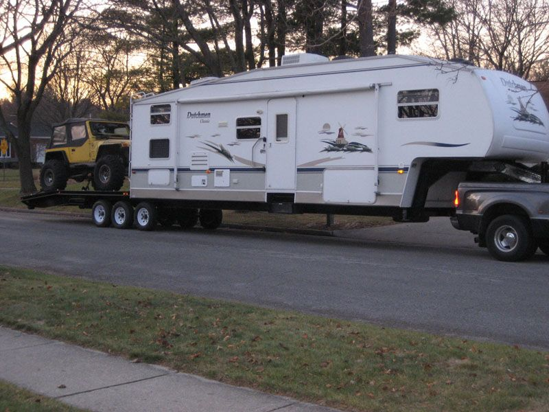 48' Crawler Hauler | Vehicles | Diy camper trailer, Toy hauler