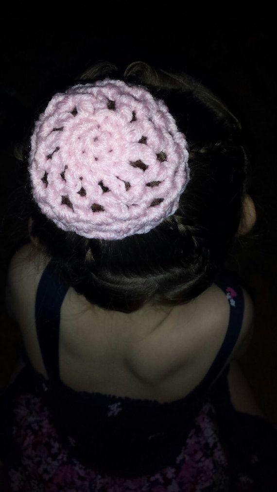 Crochet Ballet Bun Cover All Colors By Elvinablakecreations 600