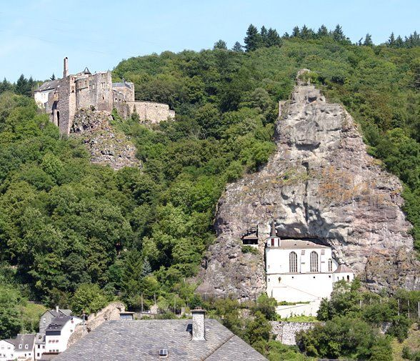 loved this this church is built into side of rock mountain in idar oberstein germany places. Black Bedroom Furniture Sets. Home Design Ideas