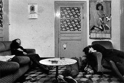 Asesinato en un prostíbulo, Palermo, 1985, por Letizia Battaglia