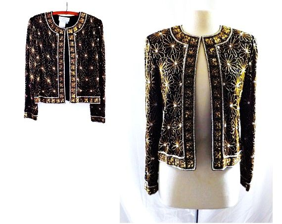 beaded tops and jackets
