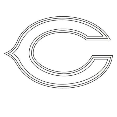 chicago bears nfl american football teams logos coloring pages and ...
