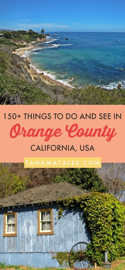 Things to do in Orange County, #California –Orange County has a population of about 3 million and it is considered the third most populous county in California and the sixth in the country.  If you enjoy beaches, fashion, history, theme parks, restaurants (delicious food), and shopping, here I am to tell you all about the places to go, see and eat in the area! | Orange County Travel Tips | Orange County Photography | Orange County Beaches | Orange County Photo Locations | Orange County Aesthetic