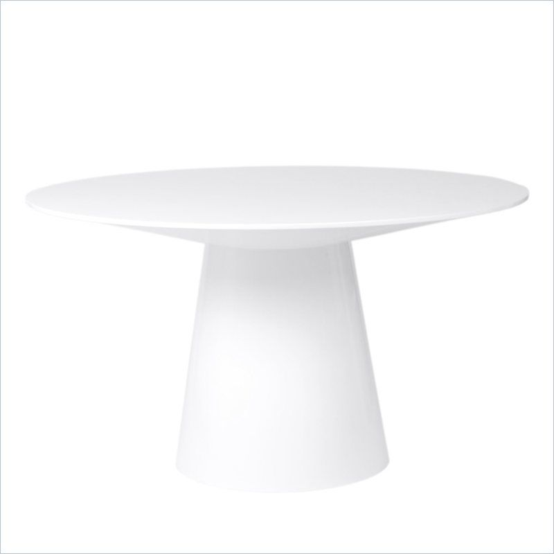 pedestal kitchen round small white dining inch table