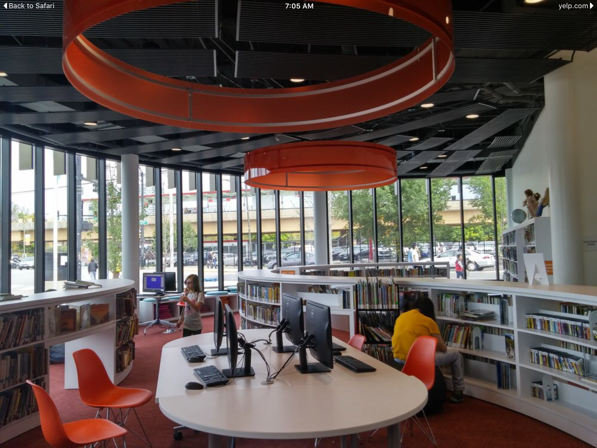 2016 Aia Ala Library Building Awards Chicago Public Library Chinatown Branch Library Computer Area By Som Architecture Leed Gold Library Wight Co Ch