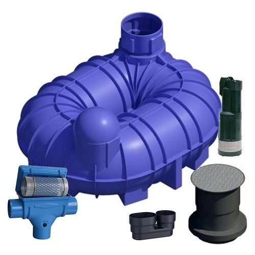 6800 Litres Underground Water Tank Garden System - Buy online from Direct Water Tanks.