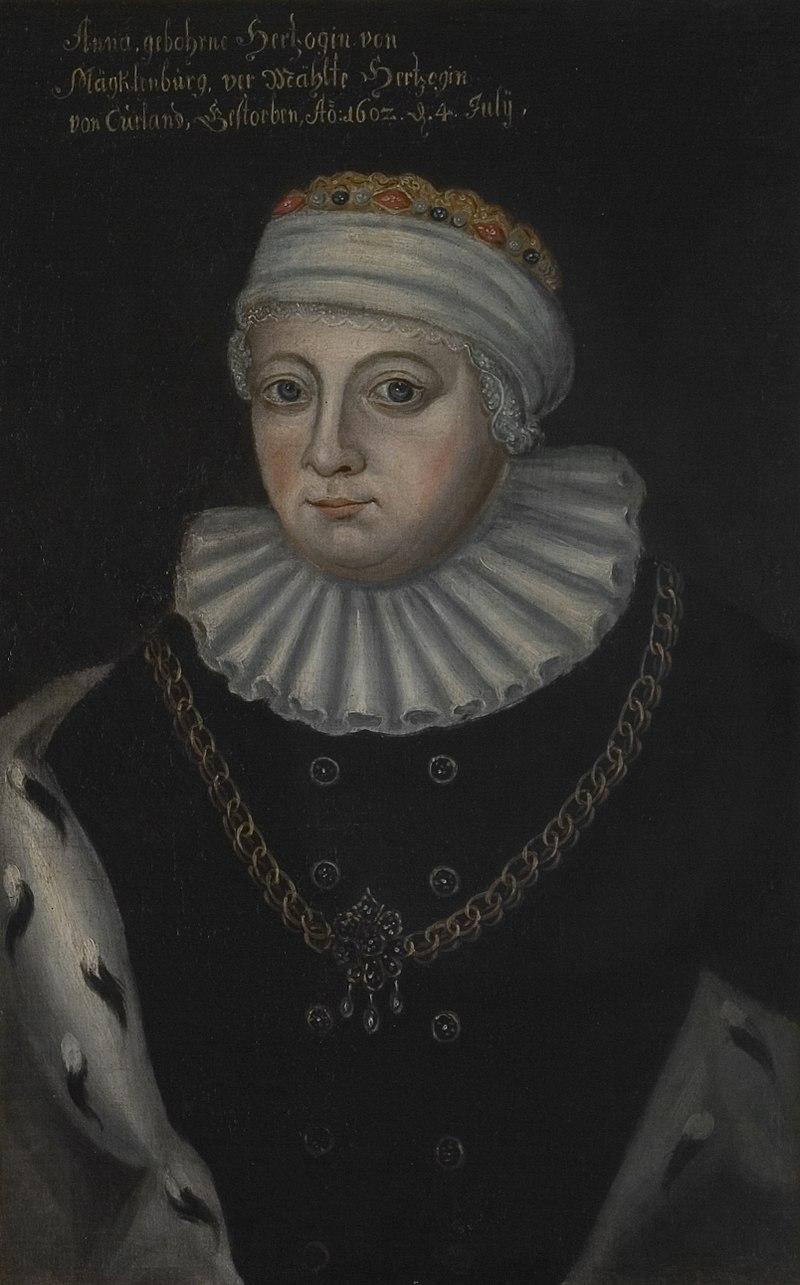 Anna of Mecklenburg - Category:Anne of Mecklenburg ...