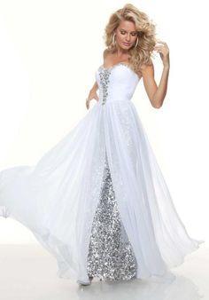 wedding prom dress
