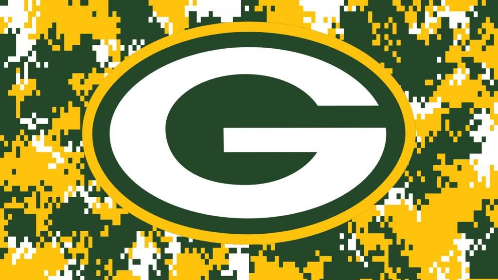 Green Bay Packers camo desktop background. Green bay