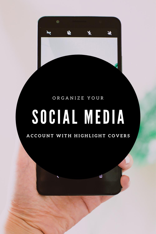 Custom design, Instagram story highlight icons, Social