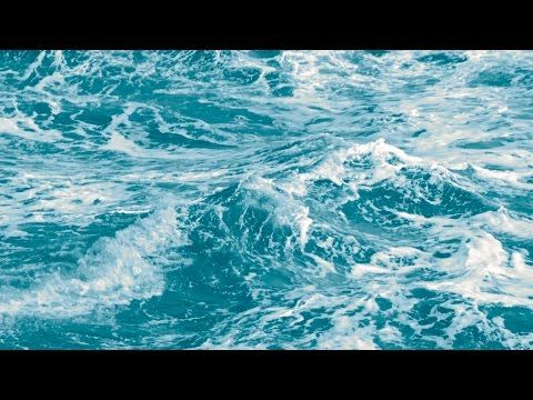 2) Blue Ocean Waves Slow Motion - Free Stock Footage - YouTube 2D