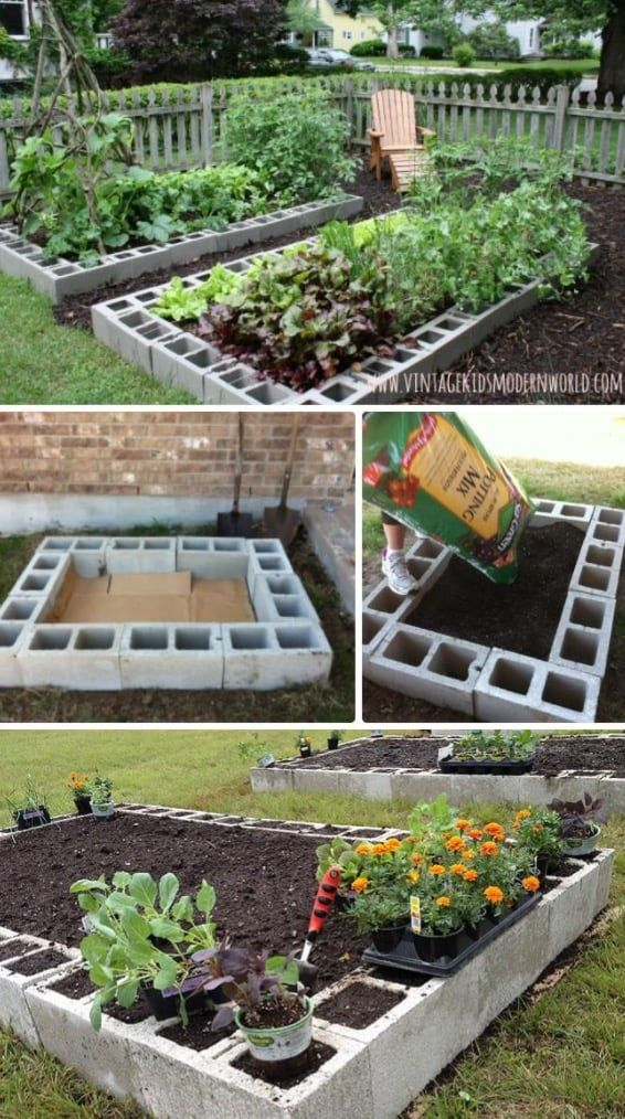 raised herb garden planter ideas quick video instructions jardinage jardin sur lev et paillis. Black Bedroom Furniture Sets. Home Design Ideas