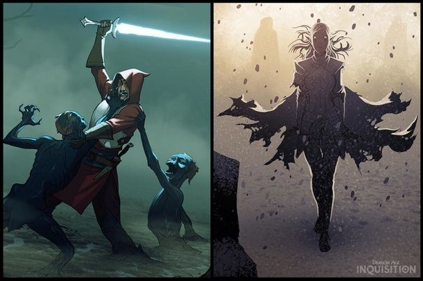 Dragon Age Bioware Video Games Rpg Fantasy Art: BioWare Shares Inquisitor Concept Art