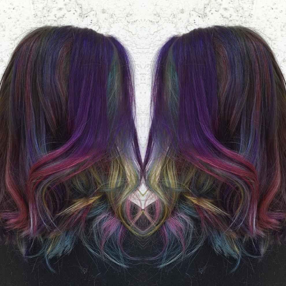 Y por fin se cumplirán tus fantasías de llevar el cabello de colores.