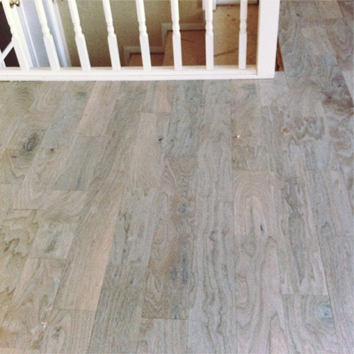 Our New Gray Wash Wood Floors What I