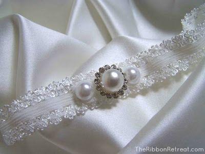 Wedding Garter Tutorials - The Ribbon Retreat Blog
