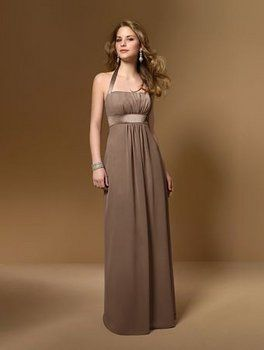 mocha wedding colors  ... the mocha color and my maid of honor ...