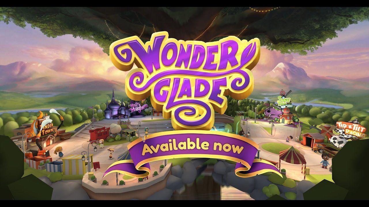Wonderglade Release Trailer Classic games, Theme park