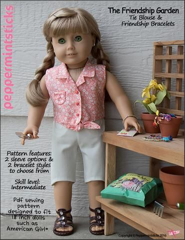 Free Doll Clothes Pattern (August 17th, 2018) Help Us Decide   Pinterest