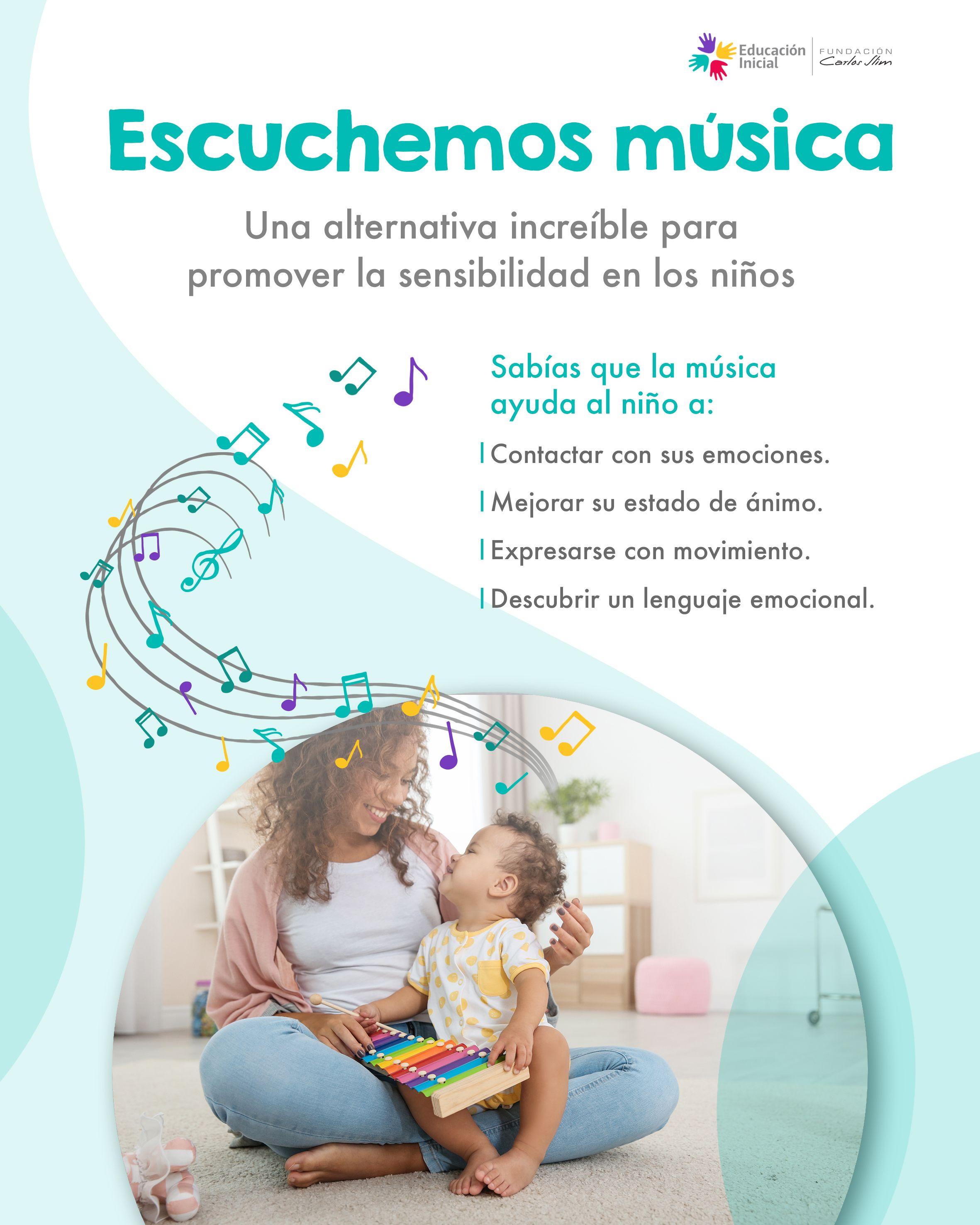 Un Primer Acercamiento A Las Emociones A Través De La Música Educacion Inicial Educacion Emocional Infantil Psicologia Niños Educación Del Bebé