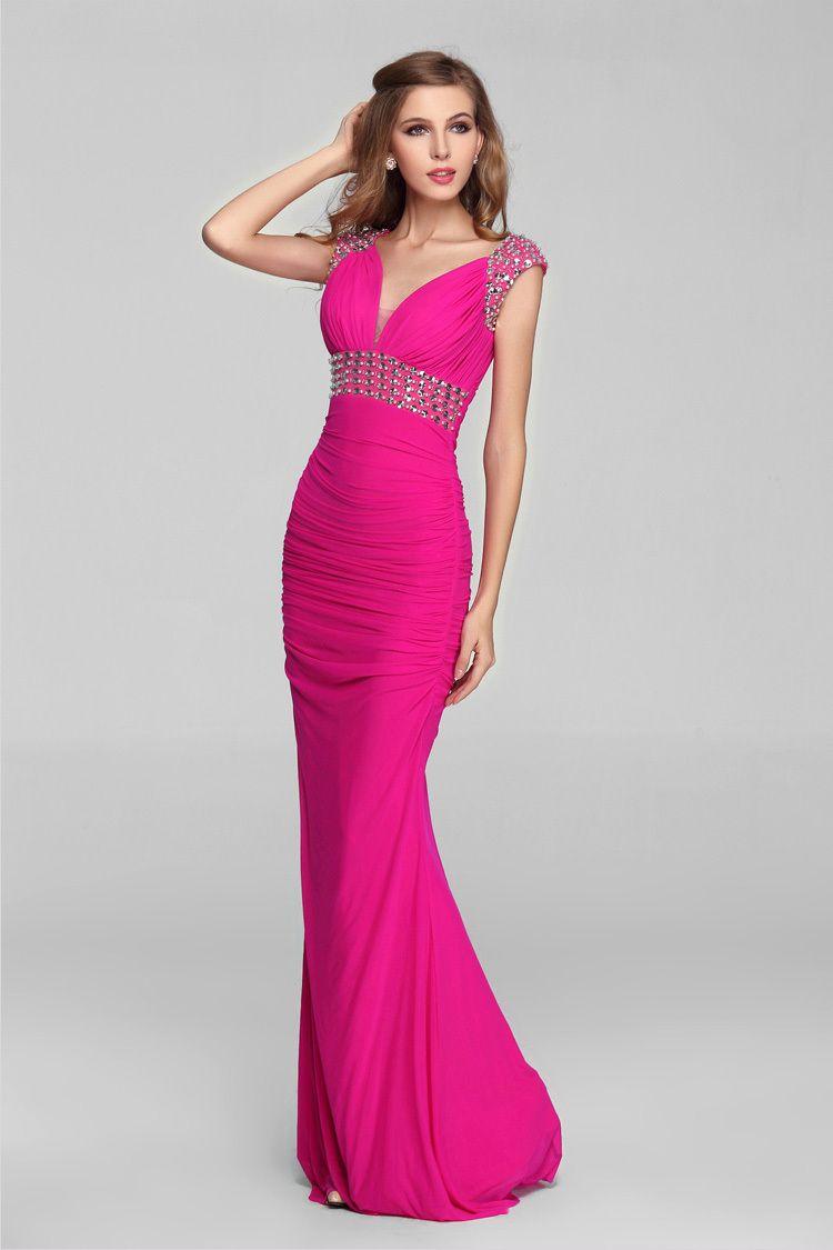 2015-2015-caliente-venta-moda-elegante-mujeres-Vestidos-largos-de ...
