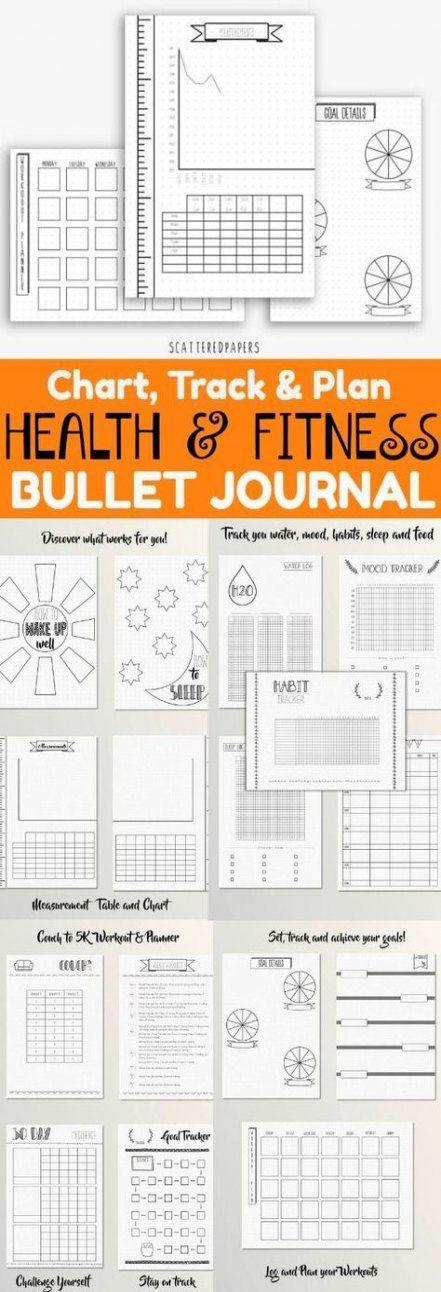 Fitness planner diy track 32 Ideas #diy #fitness