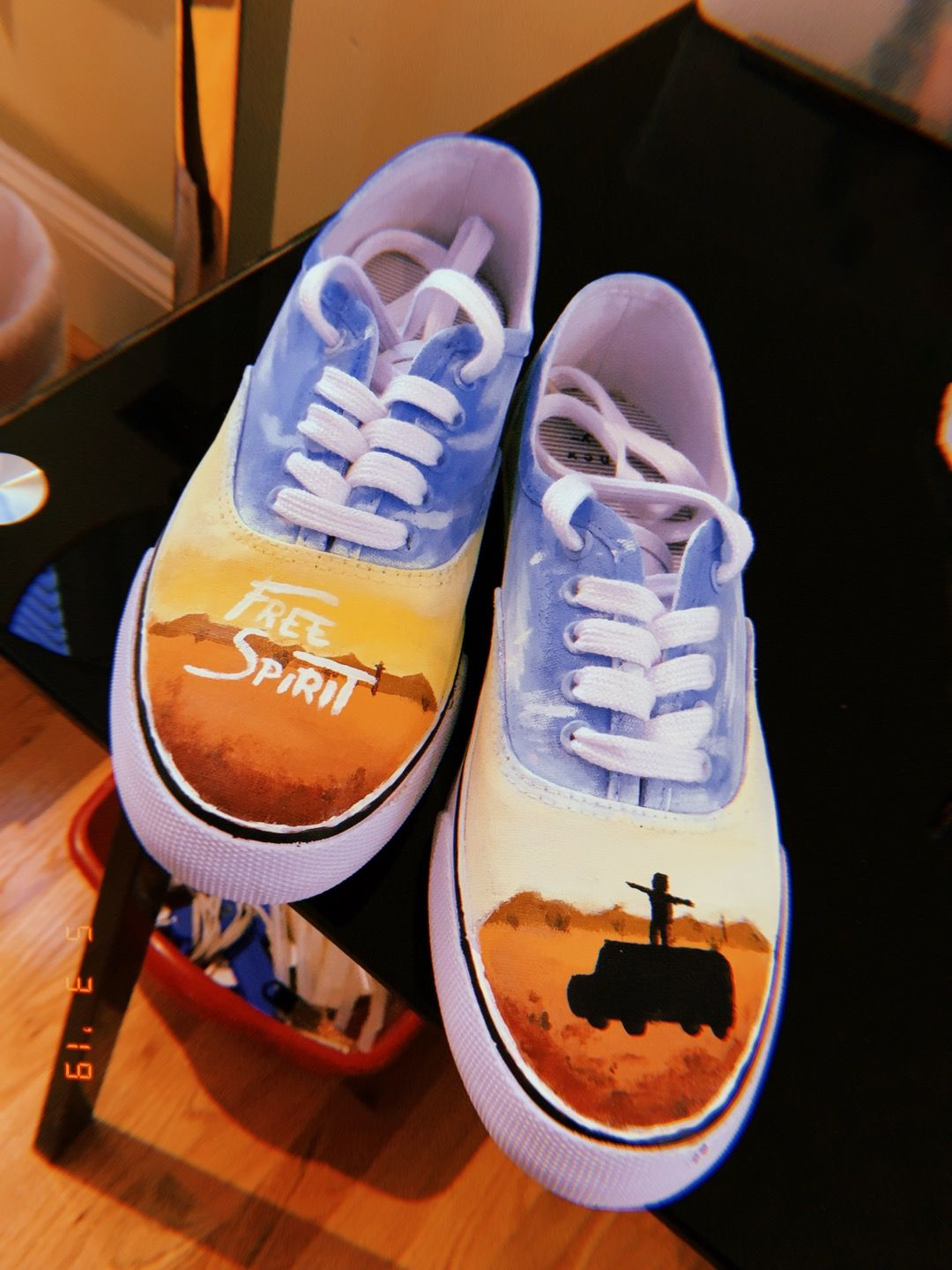 Khalid Free Spirit Painted Shoes With Images Painted