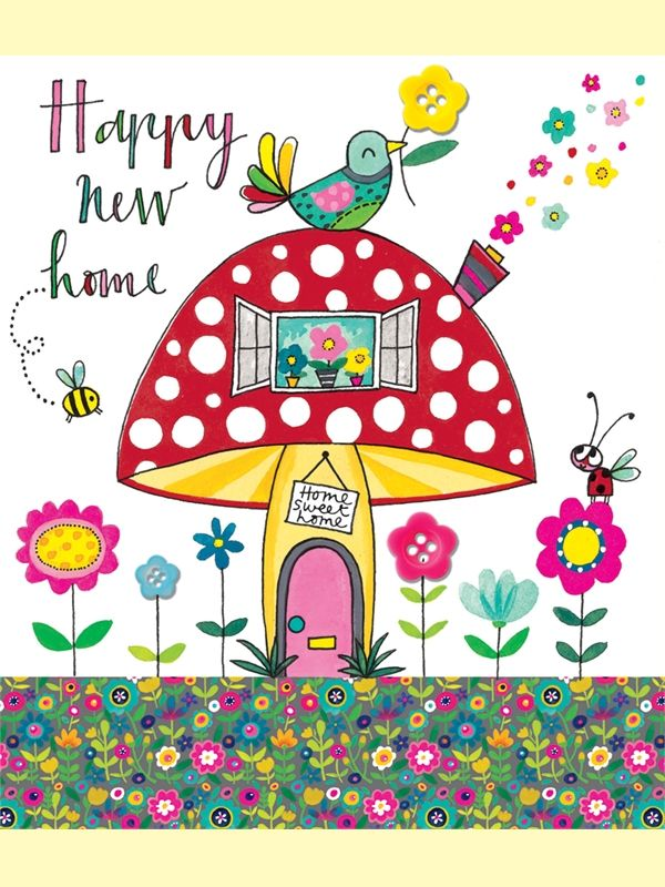 Happy new home greeting card by rachel ellen designs greetings ii happy new home greeting card by rachel ellen designs m4hsunfo