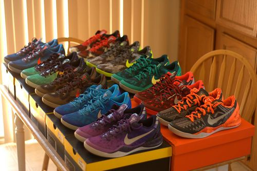 8b407bef100 Nike  Kobe 8  sneaker collection Kobe Bryant Nba
