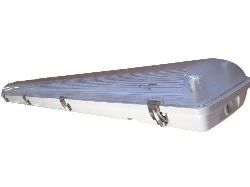 Vapor Tight / Vapor Proof Fluorescent 4\' Fixture 2 Lamp T… | Barn ...