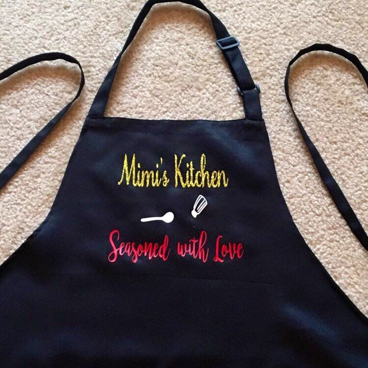 This Item From My Etsy Shop Housewarming Gift Personalized Apron Chef Moms For Birthday Retirement