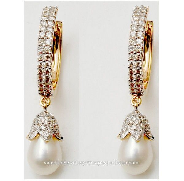 diamond bali earring designs