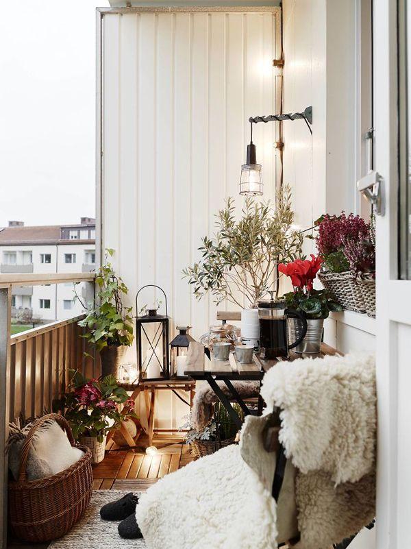 18 Cozy and Romantic Balcony Ideas   House Design And Decor   Home ...