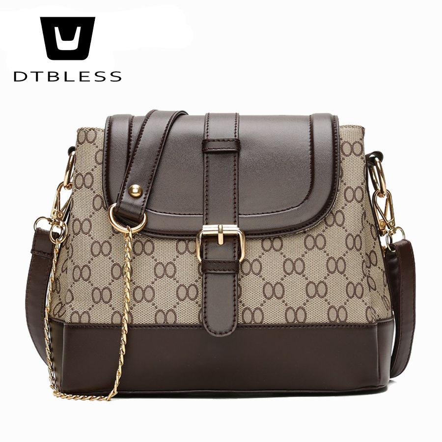 8beb0b0c3c8e 2018 Chain Shoulder Bag Women PU Leather Messenger Crossbody Small Bag  Fashion Ladies Bags Designer High Quality D304-1