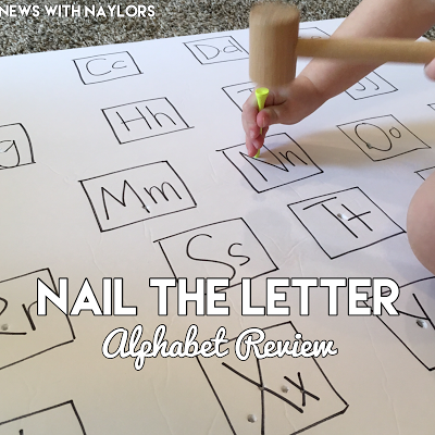 nail the letter alphabet review activity for toddlers and preschoolers news with naylors letter n activities ages 3 20 months