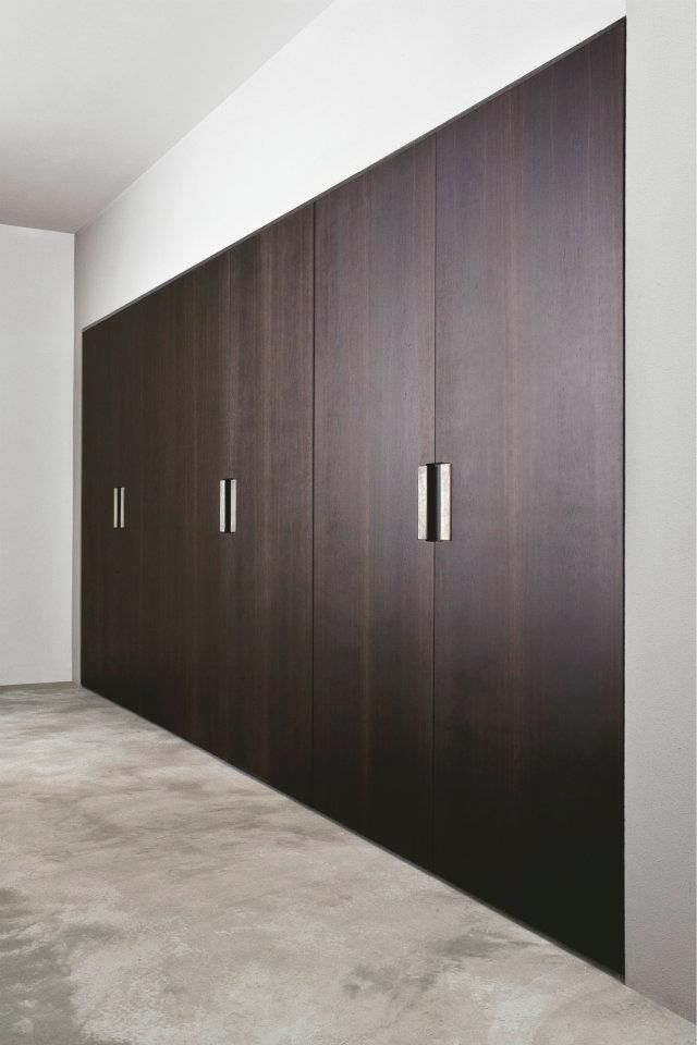 Sleek wardrobe contemporary wardrobe design vintage for Modern built in cupboards