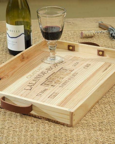Diy Que Faire Avec Des Caisses De Vin Deco Caisse De Vin Caisse A Vin Boites A Vin En Bois
