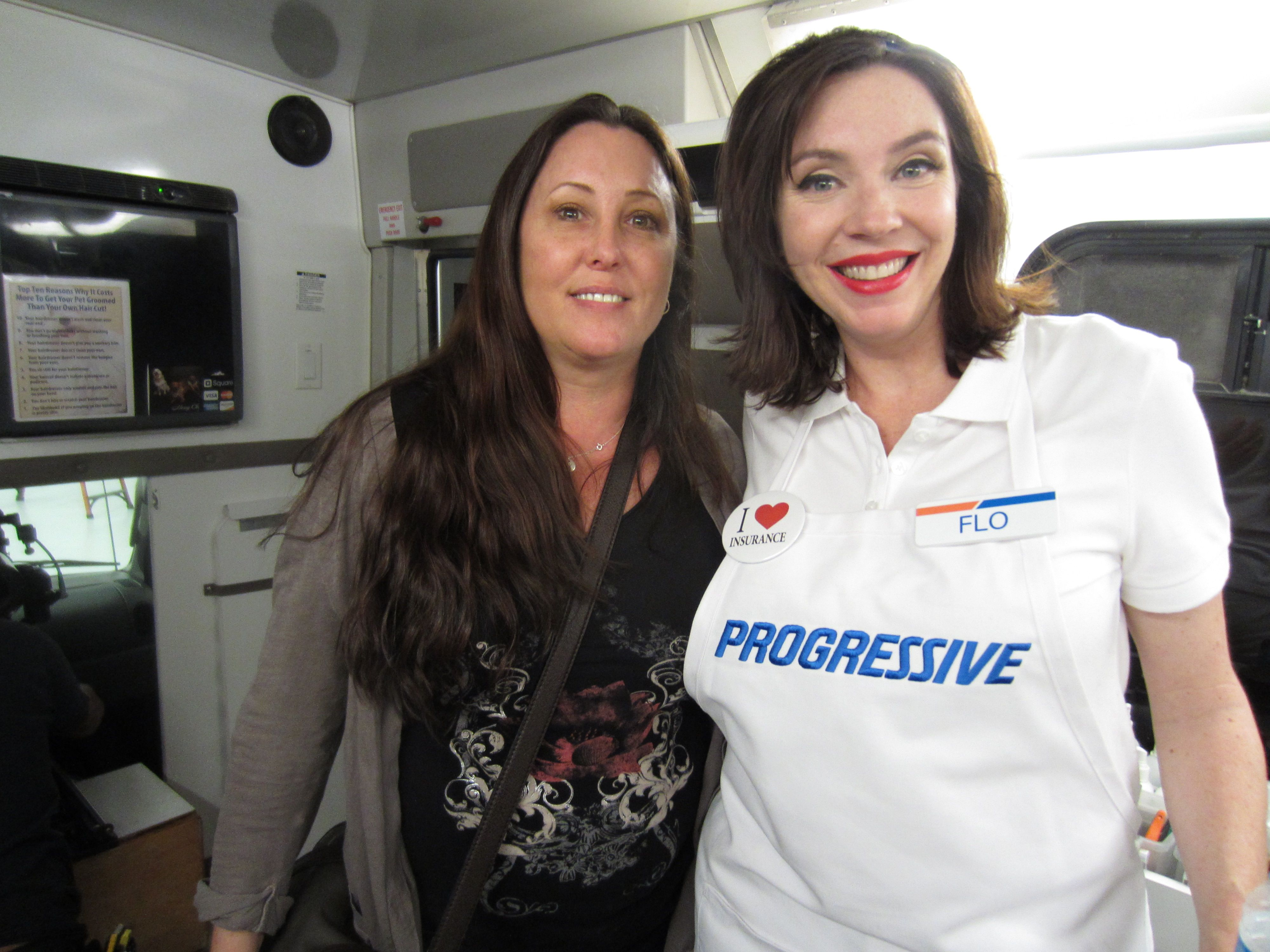 Progressive Auto Insurance Used My Grooming Truck For A Commercial