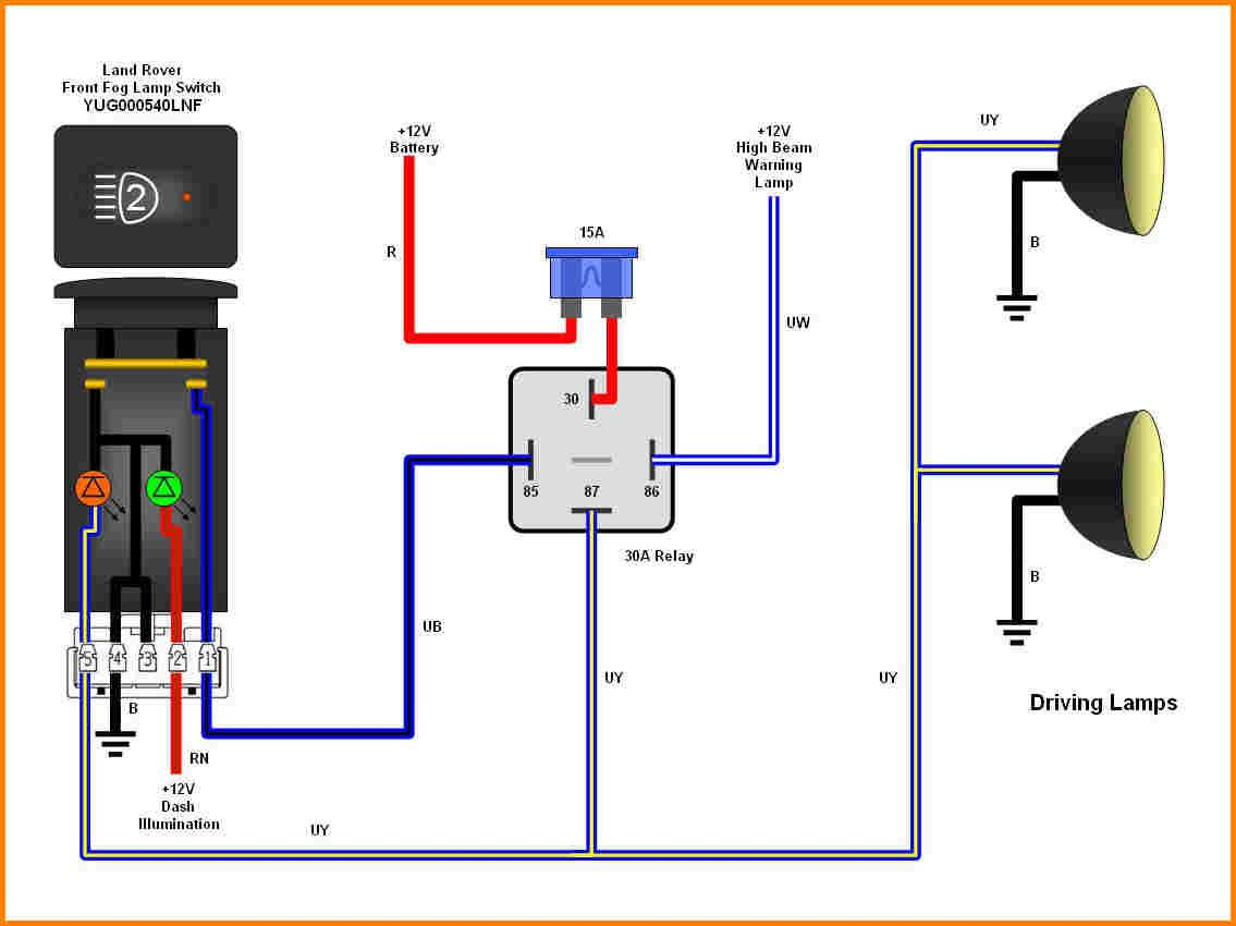 7 Pin Relay Diagram - Wiring Diagram Progresif