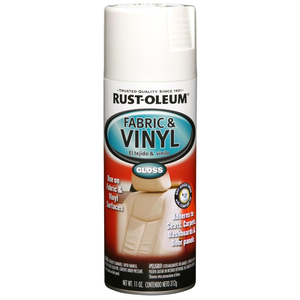 Best Rust Oleum Automotive 11 Oz Gloss White Fabric Vinyl 400 x 300