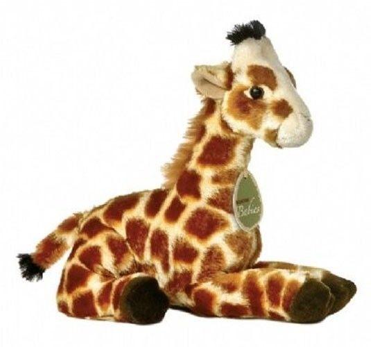 8 Aurora Babies Plush Giraffe Geri Mini Safari Zoo Stuffed Animal